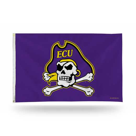 FGB130604: NCAA FGB BANNER FLAG, East Carolina