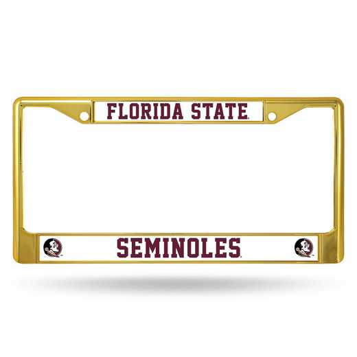 FCC100206GD: NCAA FCC Chrome Frame (Colored) Florida ST