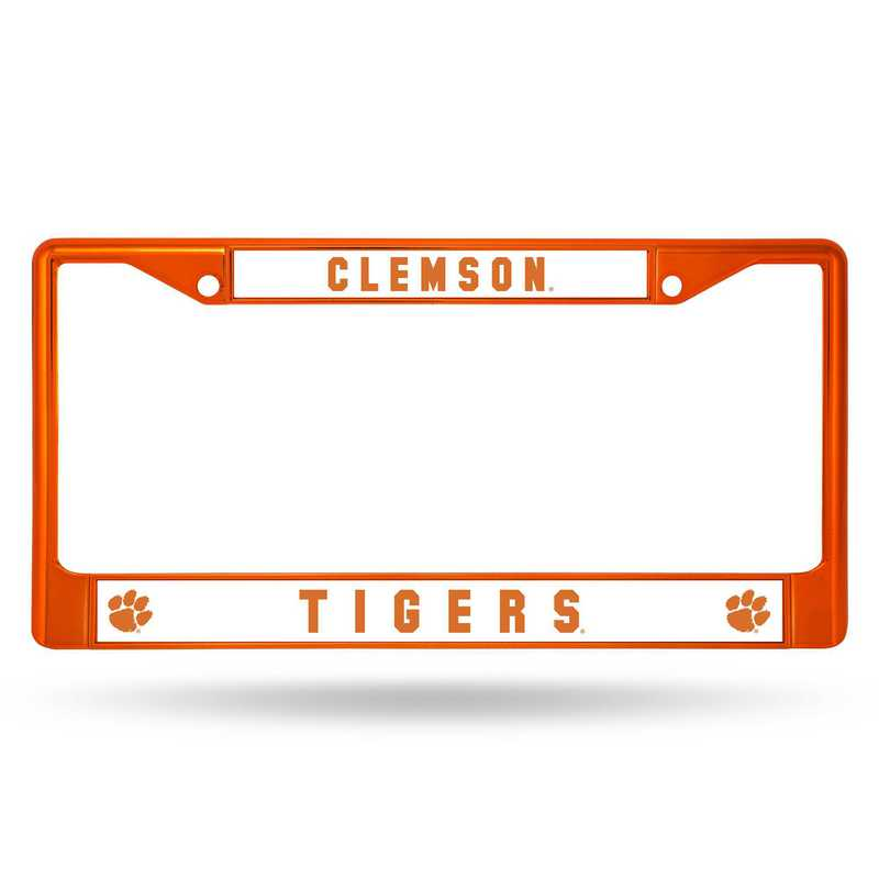 FCC120203OR: NCAA FCC Chrome Frame (Colored) Clemson