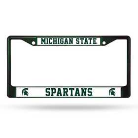 FCC220104DG: NCAA FCC Chrome Frame (Colored) Michigan ST
