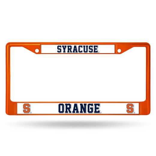 FCC270105OR: NCAA FCC Chrome Frame Colored Syracuse