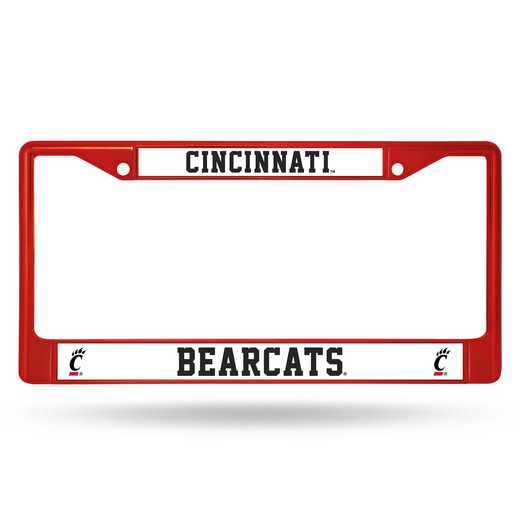 FCC300403RD: NCAA FCC Chrome Frame Color Cincinnati