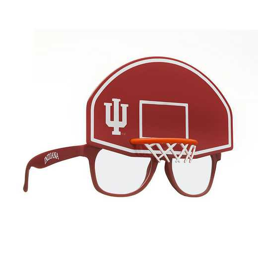 SUN200101BK: INDIANA BASKETBALL NOVELTY SUNGLASSES