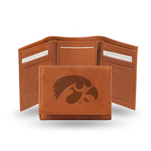 STR250102: NCAA STR Trifold Wallet, Iowa