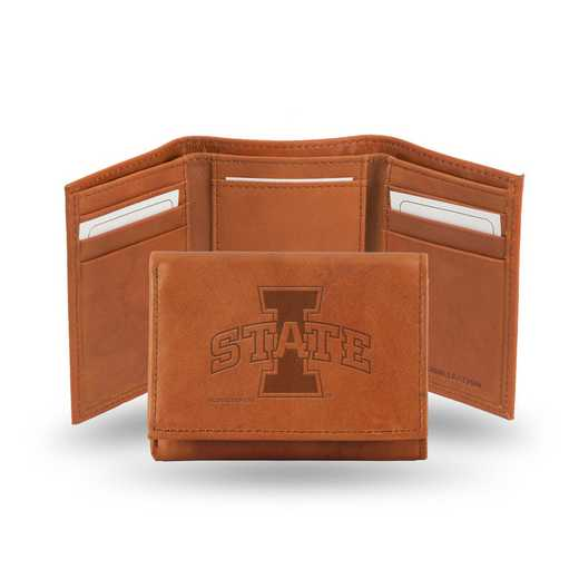 STR250201: NCAA STR Trifold Wallet, Iowa St
