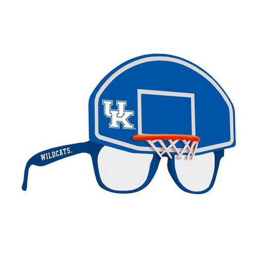 SUN190102BK: KENTUCKY BASKETBALL NOVELTY SUNGLASSES