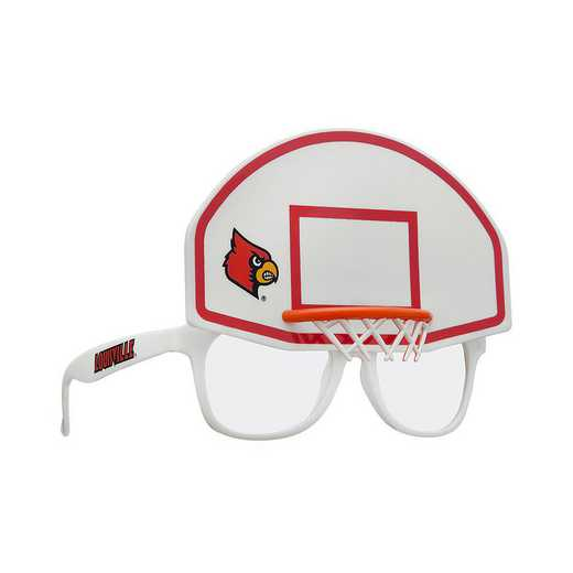 SUN190001BK: LOUISVILLE BASKETBALL NOVELTY SUNGLASSES