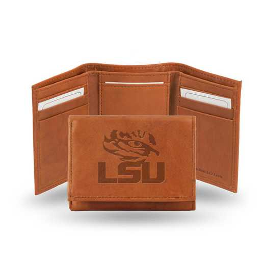 STR170102: NCAA STR Trifold Wallet, LSU