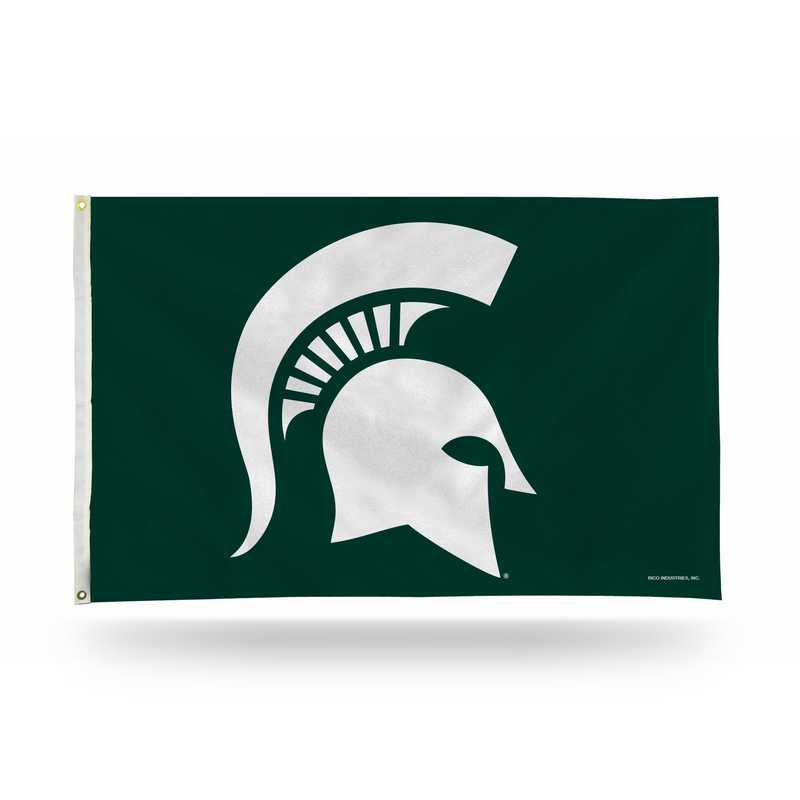 FGB220105: NCAA FGB BANNER FLAG, Michigan St
