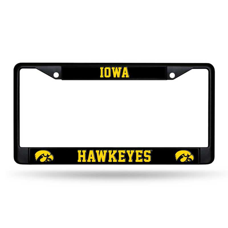 NCAA Iowa Hawkeyes Steel Travel Mug with Flame Logo