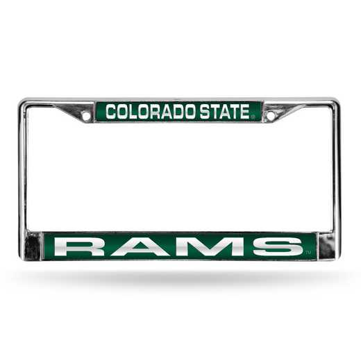FCL500201: NCAA-FCL Chrome Lsr License FrmColorado ST