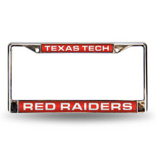 FCL260801: NCAA-FCL Chrome Lsr License FrmTexasTech