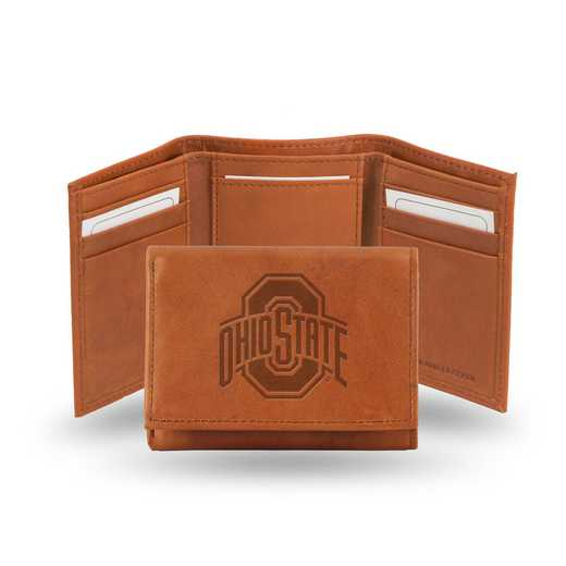 STR300102: NCAA STR Trifold Wallet, Ohio St