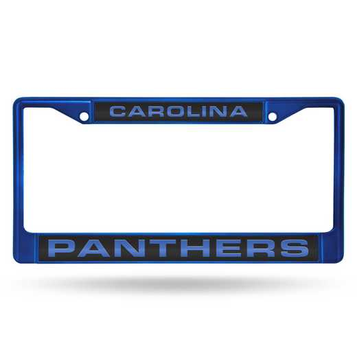 FNFCCL0802BL: NFL FCCL Lsr Color Chrome Frame Panthers