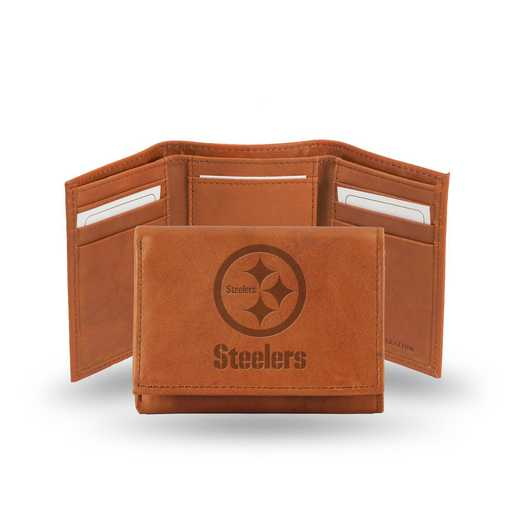 STR2305: NFL STR Trifold  Wallet, Steelers