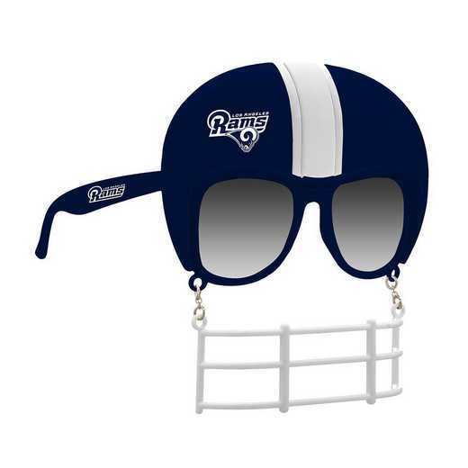 SUN3002: LA RAMS NOVELTY SUNGLASSES