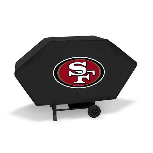 BCE1901: NFL BCE GRILL COVER, 49ers