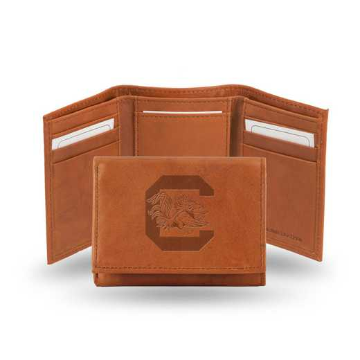 STR120101: NCAA STR Trifold Wallet, S Carolina