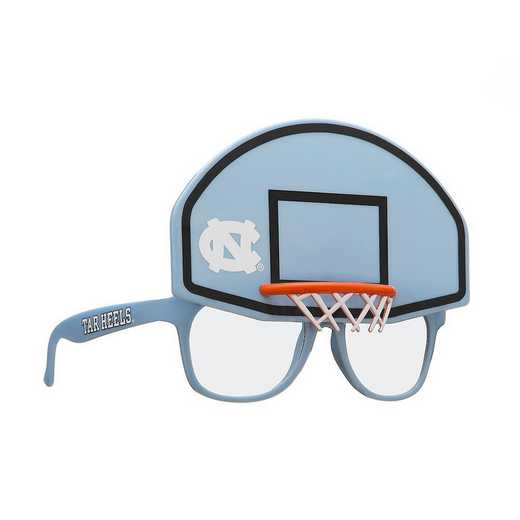 SUN130102BK: NORTH CAROLINA BASKETBALL NOVELTY SUNGLASSES