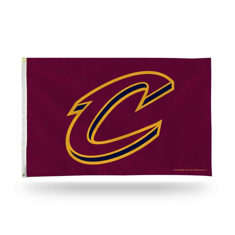 FGB73008: RICO CLEVELAND CAVALIERS BANNER FLAG (SCRIPT C DESIGN)
