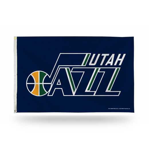 FGB79005: RICO UTAH JAZZ 3 X 5 BANNER FLAG
