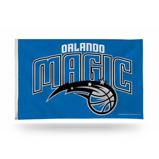 FGB83004: RICO ORLANDO MAGIC 3 X 5 BANNER FLAG