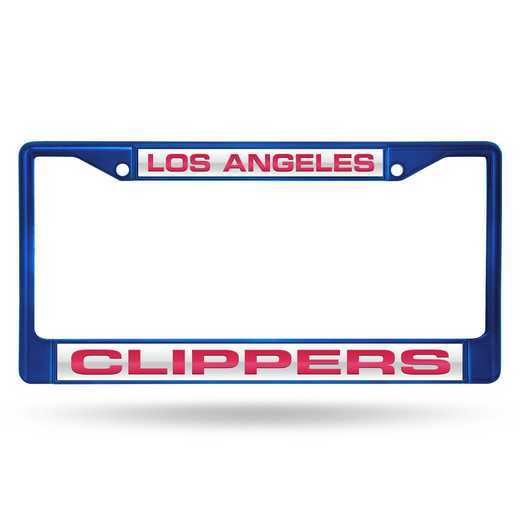 FNFCCL75003BL: RICO CLIPPERS BLUE LASER COLORED CHROME FRAME
