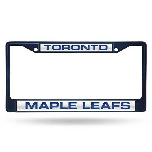 FNFCCL8702NV: RICO MAPLE LEAFS NAVY LASER COLORED CHROME FRAME