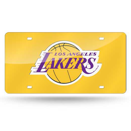 LZC82001: RICO LAKERS YELLOW BACKGROUND LASER TAG