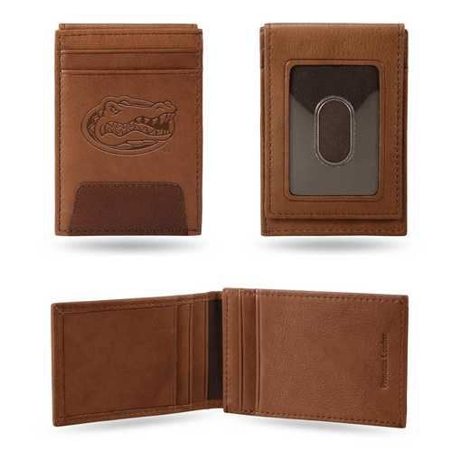 FPW100101: FLORIDA PREMIUM LEATHER FRONT POCKET WALLET