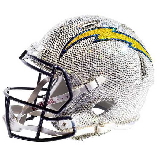 32693: Los Angeles Chargers Mini Helmet