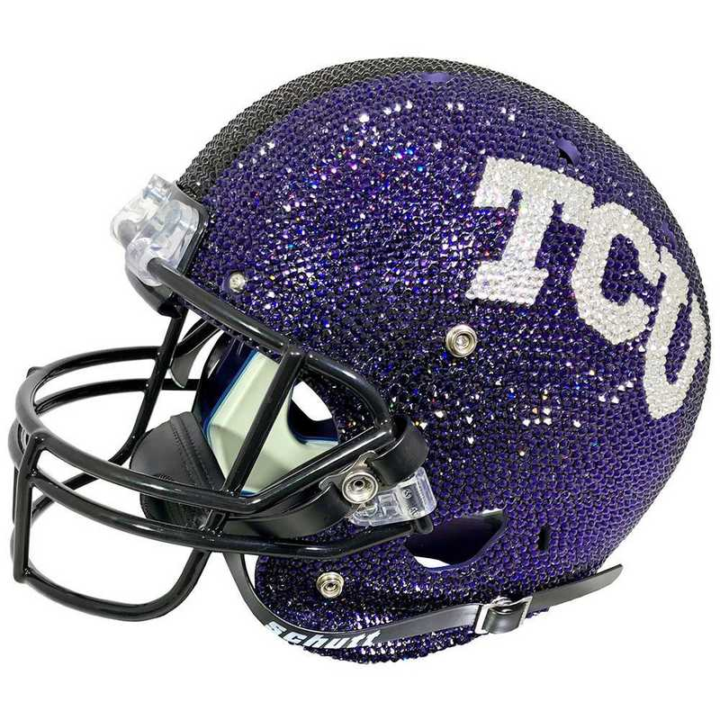 25393: Texas Christian (TCU) Mini Helmet