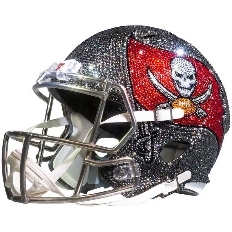 tampa bay buccaneers swarovski crystal adorned mini helmet by rock on sports tampa bay buccaneers swarovski crystal adorned mini helmet by rock on sports
