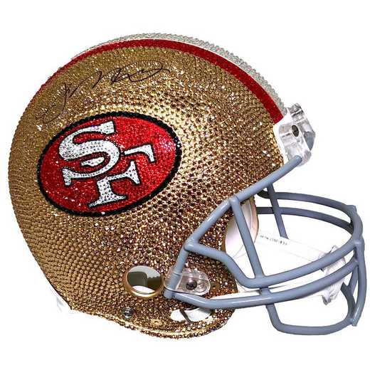 32793: San Francisco 49ers Mini Helmet