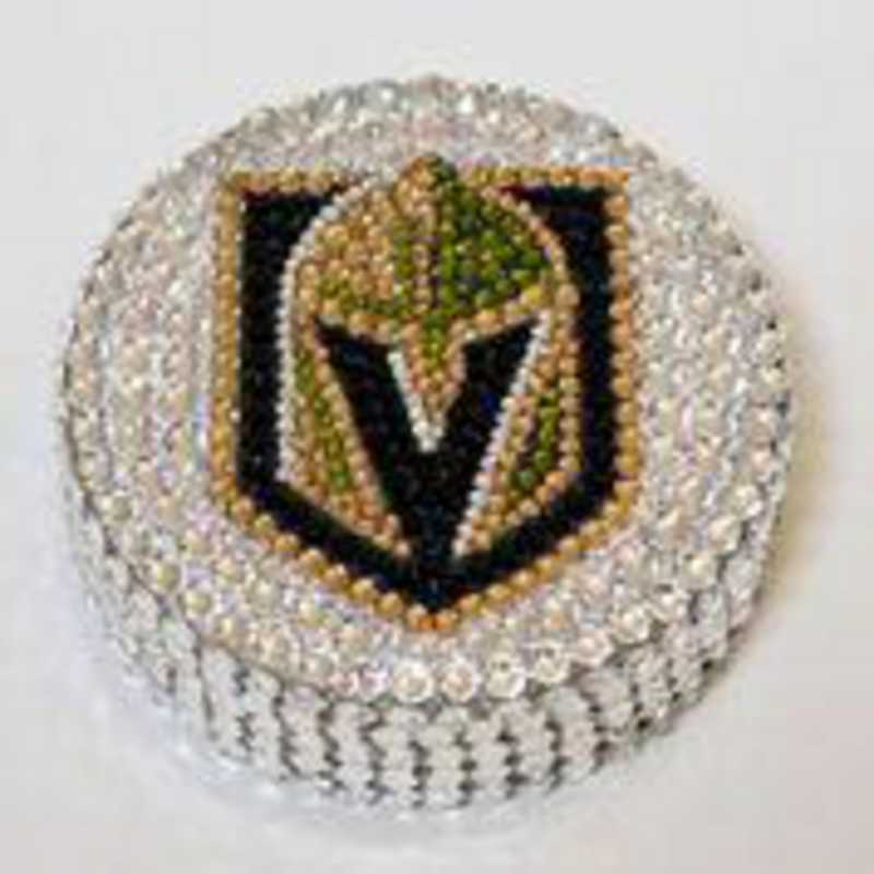 16098: Las Vegas Golden Knights Hockey Puck