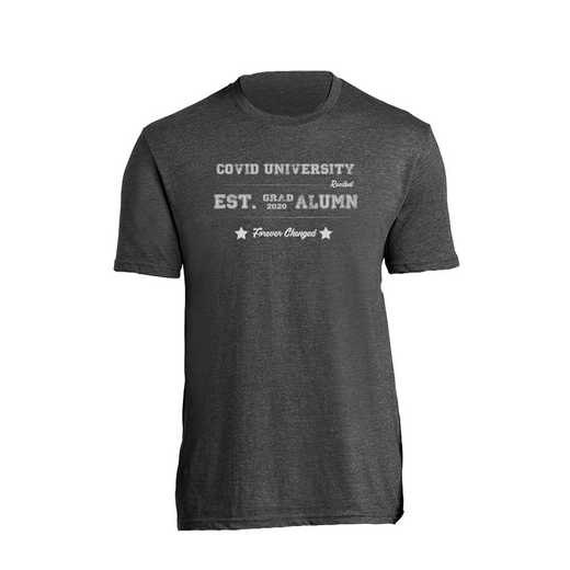 Commemorative University Alumni Class of 2020 T-Shirt, Black Heather