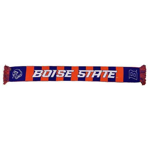 NCAA-BSU-BAR: BOISE STATE BRONCOS - BAR SCARF