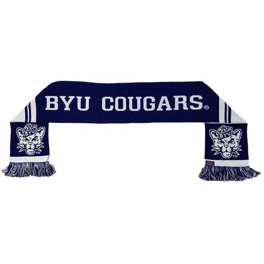 NCAA-BYU-COU: BYU COUGARS SCARF