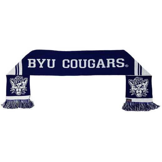 NCAA-BYU-COU: BYU COUGARS SCARF