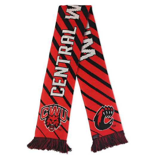 NCAA-CWU-CAT: CWU WILDCATS SCARF