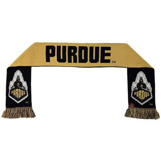 NCAA-PUR-TWO: PURDUE BOILERMAKERS - TWO TONE SCARF