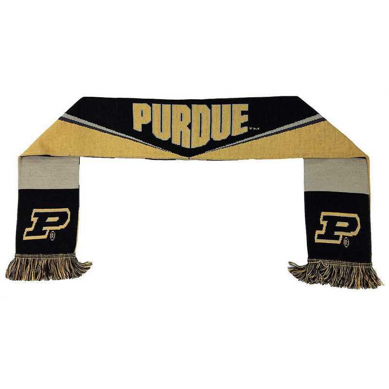 NCAA-PUR-BAR: PURDUE BOILERMAKERS - BAR SCARF