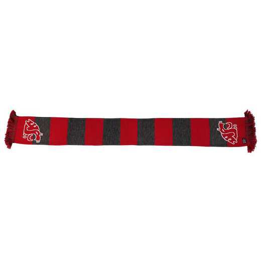 NCAA-WSU-BAR: WSU COUGARS - BAR SCARF