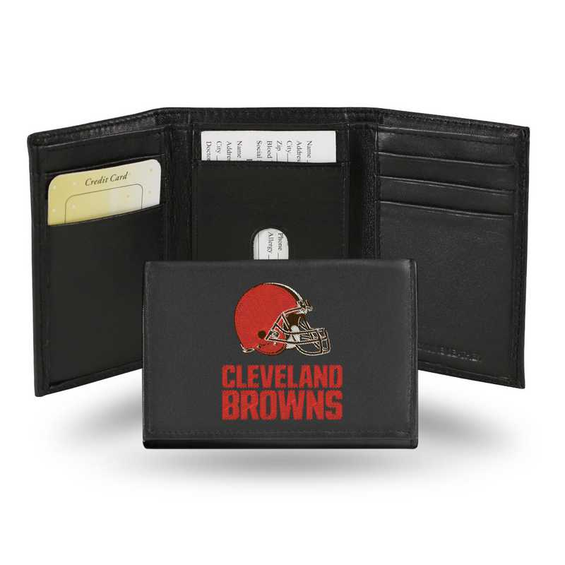 RTR2802: NFL RTR Tri-fold Wallet, Browns