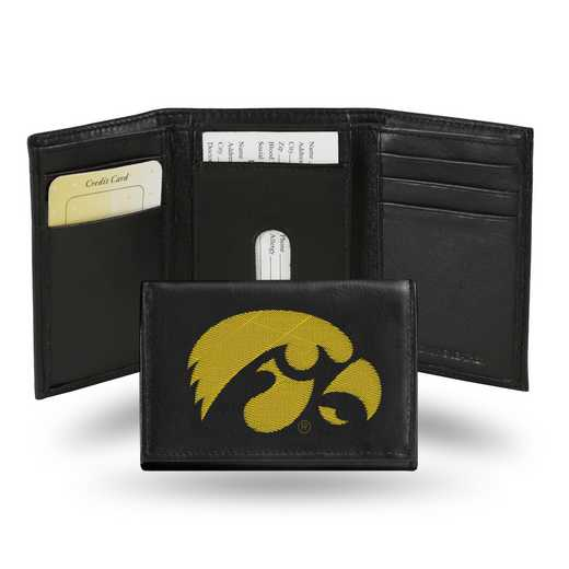 RTR250104: NCAA RTR Trifold Wallet, Iowa