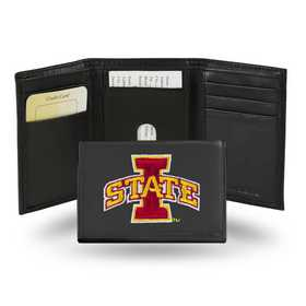 RTR250203: NCAA RTR Trifold Wallet, Iowa St