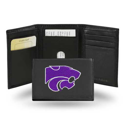 RTR310201: NCAA RTR Trifold Wallet, Kansas St