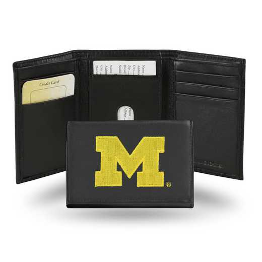 RTR220002: NCAA RTR Trifold Wallet, Michigan