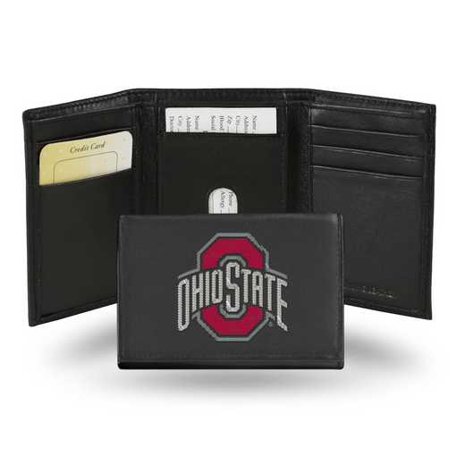 RTR300102: NCAA RTR Trifold Wallet, Ohio St
