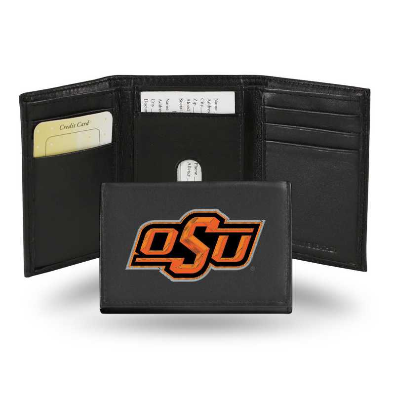 RTR230002: NCAA RTR Trifold Wallet, Oklahoma St
